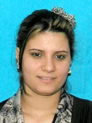 Madiha Roshdy, 27, Nashville, whose body was found by a mowing crew along I-65 in Hardin Co., Ky., in late May.  Photo from Nashville Police Dept.