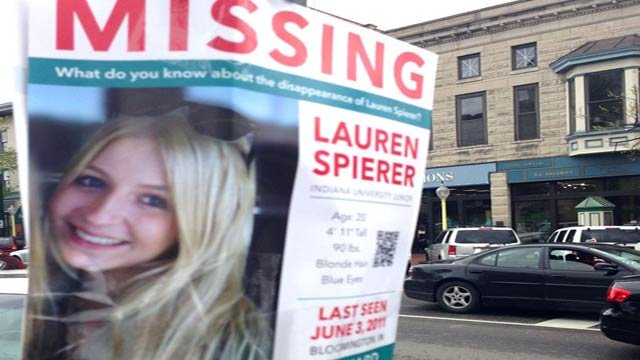 Lauren Spierer was last seen on June 3, 2011.