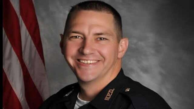 "Bardstown police officer Jason Ellis, whom police say was ""ambushed"" early on May 25."