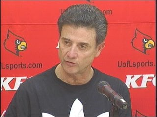 Louisville basketball coach Rick Pitino is an ESPY nominee for Best Coach/Manager of the Year