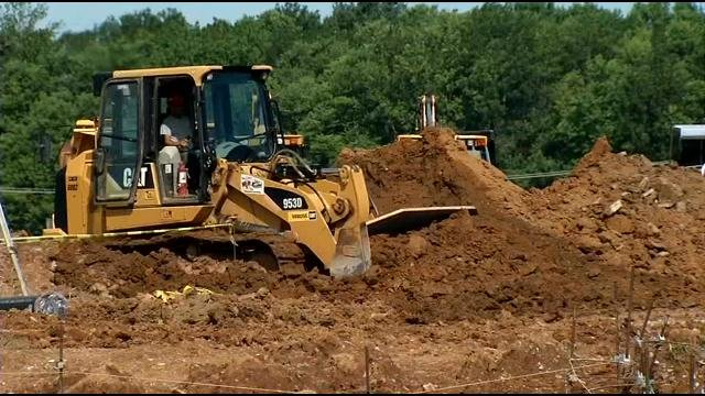 Construction crews broke ground on a second building at U of L's Shelby Campus.