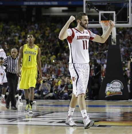 Luke Hancock, Most Outstanding Player of the Final Four, made the U.S. team for the World University Games.