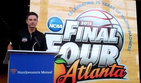 Rick Pitino will sign 1,000 pieces of the NCAA Final Four floor to help raise $250,000 for Kosair Children's Hospital.