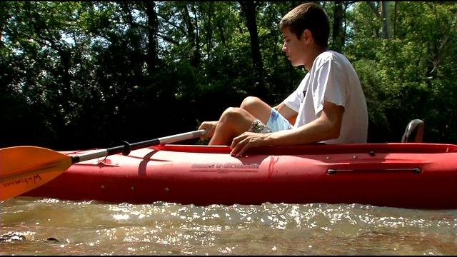 Floyds Fork is a popular spot for kayakers, with the growth of the parks system in Jefferson County.