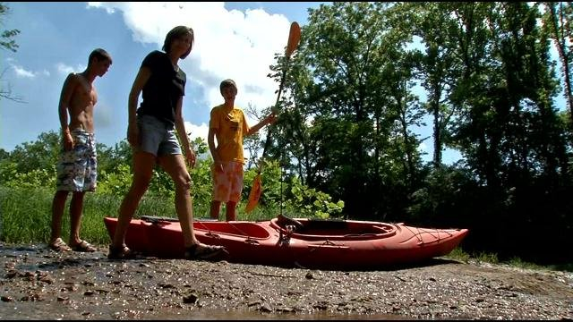 Those we spoke to had split opinions about whether they would continue to swim in Floyds Fork.