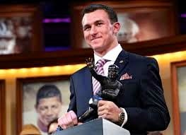 Texas A&M quarterback Johnny Manziel is opening the door for contenders like U of L's Teddy Bridgewater to take his Heisman Trophy.