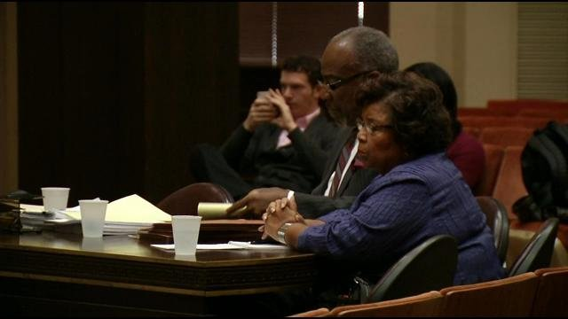 Barbara Shanklin is accused of violating the city's ethics code by using her office to benefit her family.