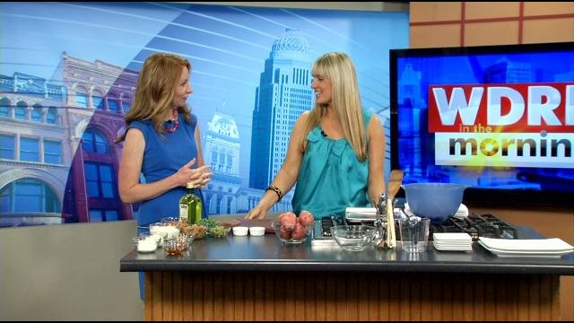 Damaris Phillips appeared on WDRB in the Morning in May, as the competition began.
