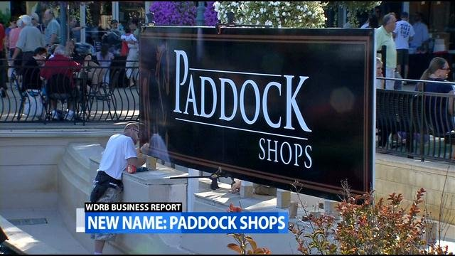 Paddock Shops, formerly known as The Summit Shopping Center