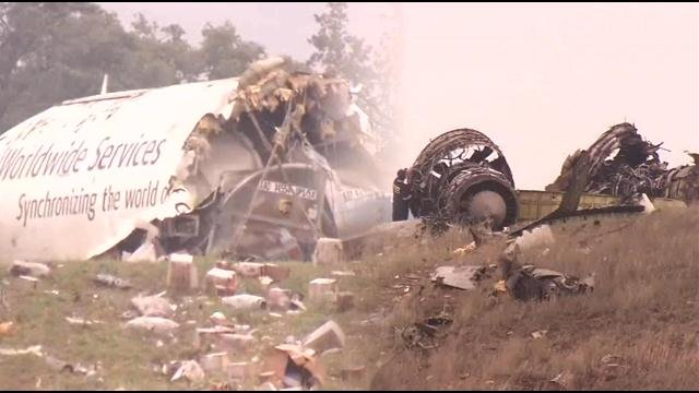 NTSB board member Robert Sumwalt says that preliminary investigations do not show any warning signs from the pilots before the deadly UPS crash in Birmingham, Ala.