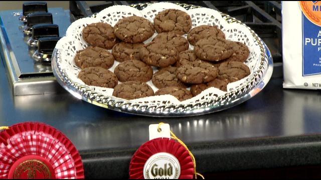 New Albany's Dana Fendley's Chocolate Mint Julep Cookies
