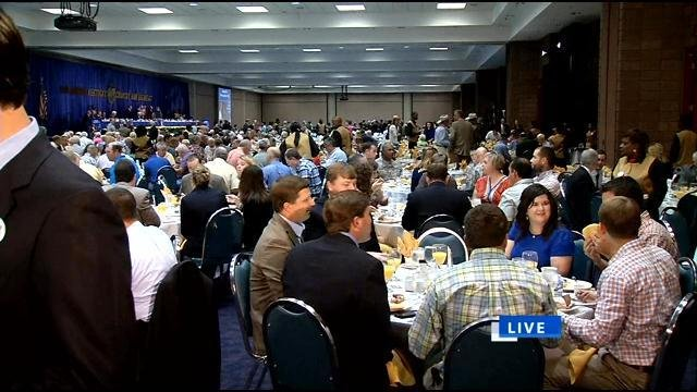 A sell-out crowd at the 2013 Kentucky Country Ham Breakfast