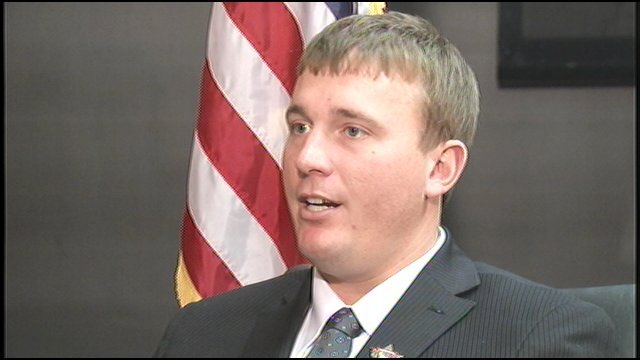 Dakota Meyer, the Kentucky hero who received the Medal of Honor, says to him, it's a badge of shame.