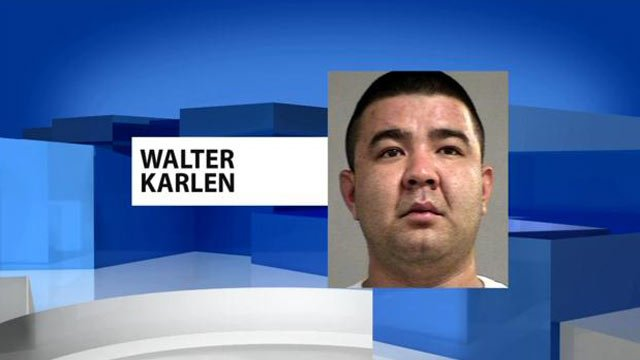 Walter Karlen is accused of causing about $20,000 in damage to Sully's Restaurant & Saloon.