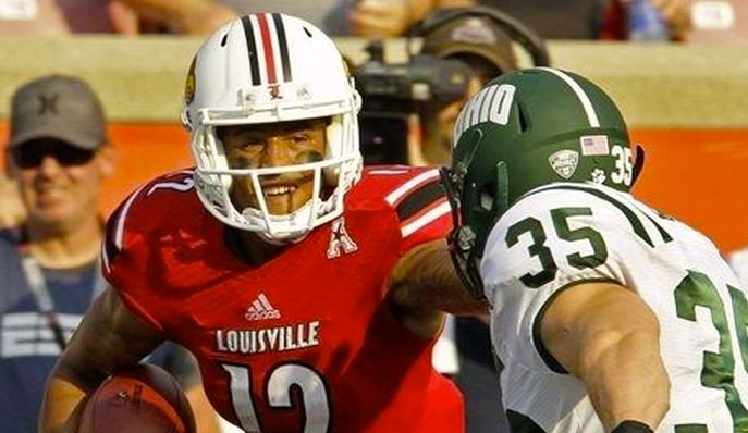 Louisville's 49-7 victory over Ohio University was enough to convince the Bobcats' players that the Cards were indeed a Top 10 team.
