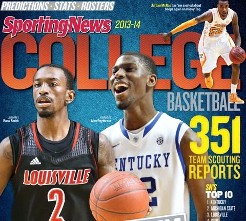 Two Cards, including Russ Smith, and two Kentucky players are ranked in the Top 15 guys in the nation by The Sporting News