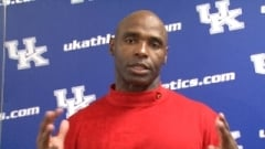 Charlie Strong after beating Kentucky for the first time in 2011.