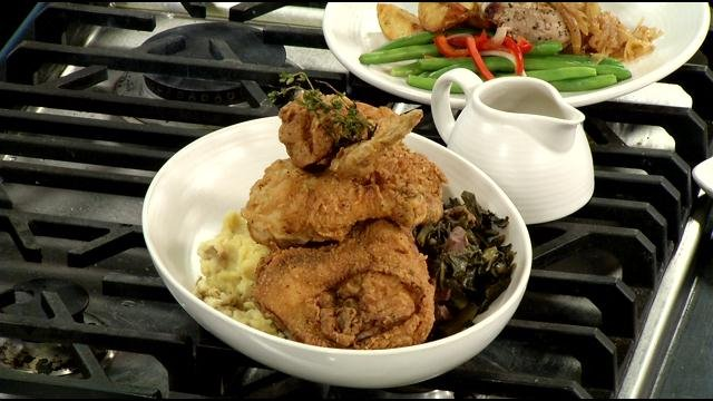 Tasty fried chicken from Sway!