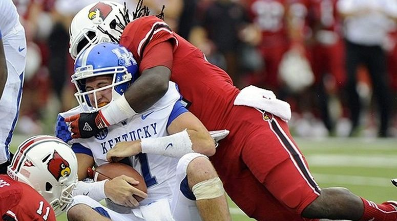 Kentucky is a two-touchdown underdog against Louisville Saturday and there hasn't been much upset talk.