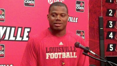Louisville linebacker Preston Brown said that he was not surprised LSU vaulted the Cardinals in the AP Top 25.