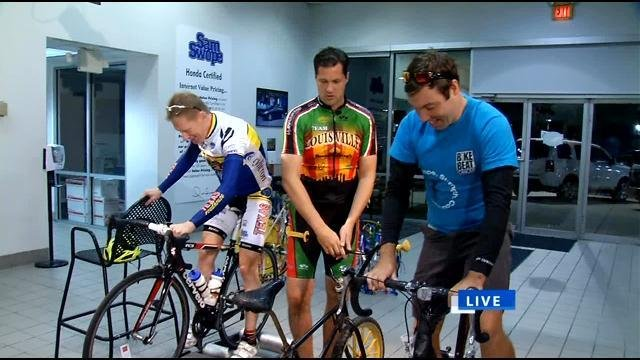 Organizers of Bike to Beat Cancer