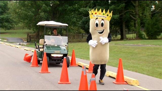 Keith Kaiser chases down the Weiner King!