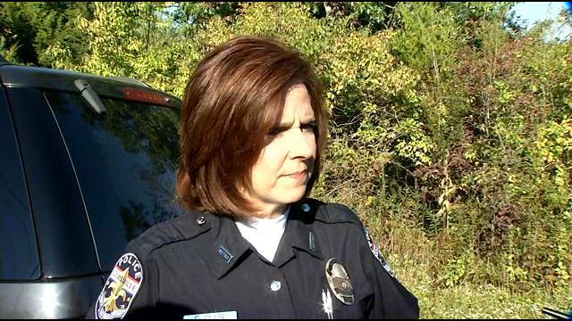 LMPD spokeswoman Carey Klain