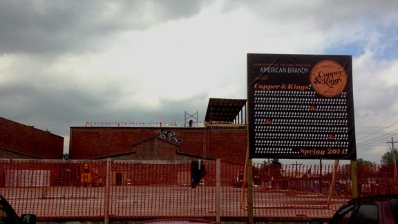 A brandy distillery called Copper & Kings is under construction in Butchertown. By Chris Otts, WDRB.com