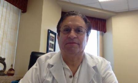 Richard Levin, M.D. (screenshot from website)