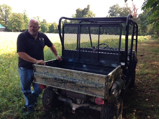 Rodney Bruce started Whitetail Bluff deer farm on his family's property in 1999