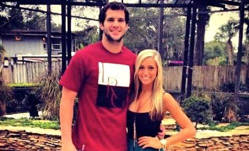 UCF quarterback Blake Bortles is coming to Papa John's Cardinal Stadium Friday. No word on his girlfriend, model Lindsey Duke.