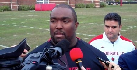 Louisville football coach Clint Hurtt spoke about the NCAA findings in the Miami football case on Tuesday.