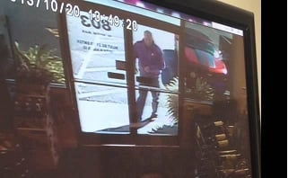 """On Wednesday, authorities released surveillance video in the case, calling this man a """"person of interest""""."""