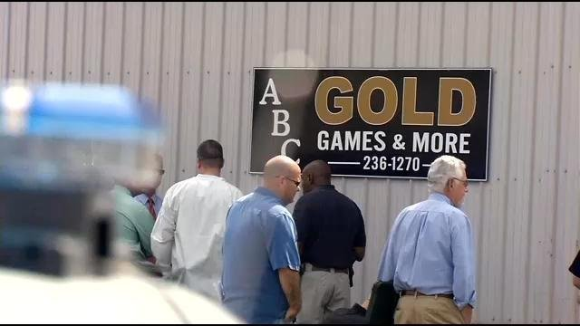 Steve Divine, the co-partner of ABC Gold, Games & More, says the store will be open through Friday from 9 a.m. to 5 p.m.