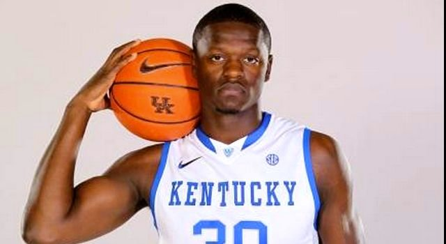 Freshman Julius Randle is one reason Kentucky will be ranked first on many AP college basketball poll ballots. (Photo courtesy UK Athletics.)