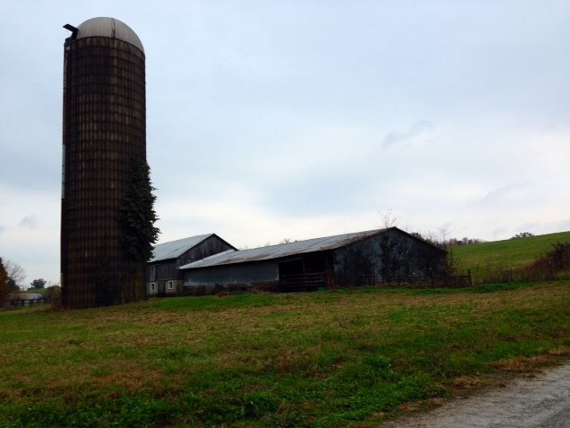A farm along the Nelson/Spencer County line