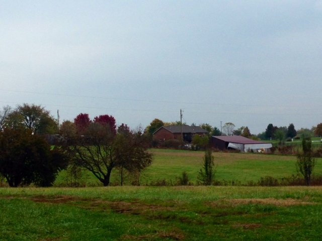 Farms are a common sight in Spencer County