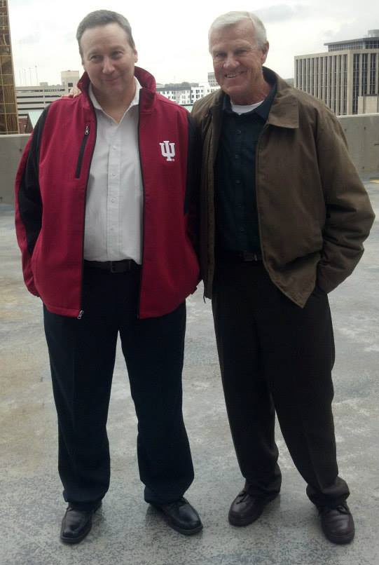 "David Camm (left) with uncle Sam Lockhart (right). Source: ""Free David Camm"" Facebook page."