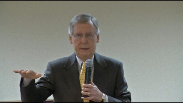 U.S. Senator Mitch McConnell