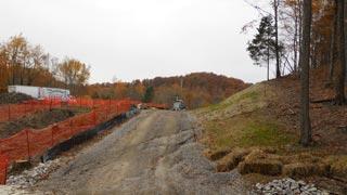Kenzig Road construction