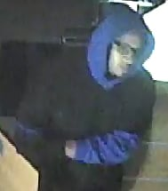 Louisville Metro Police are asking for the public's help to find a man who burglarized a local sandwich shop.