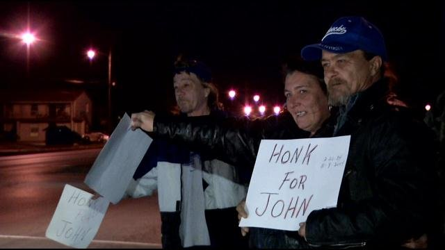 Family of 20-year-old John Shofner English gather on the 9th anniversary of his murder, which remains unsolved.