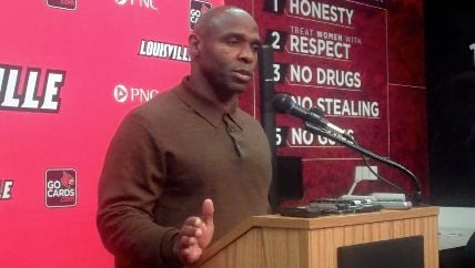 Charlie Strong reminded his team that UCF could stumble the way Louisville stumbled at the end of last season.