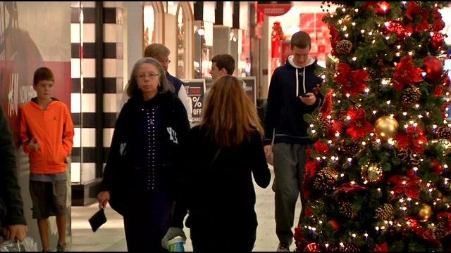 Shoppers at Oxmoor Center