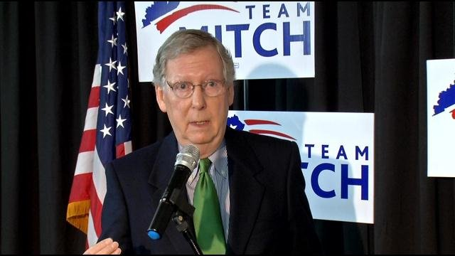 Too little, too late: that's what U.S. Sen. Mitch McConnell says about President Obama's recent apology to those losing health care plans.