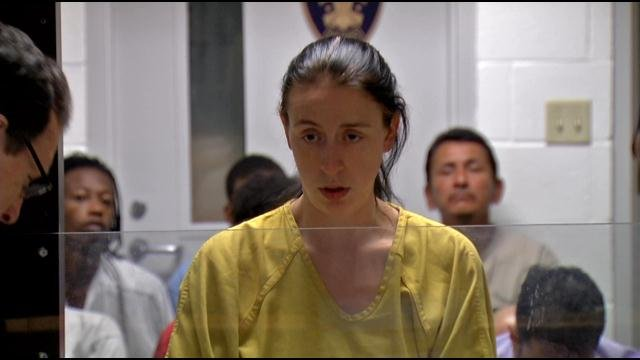 Jessica Price, at arraignment in district court earlier this year.