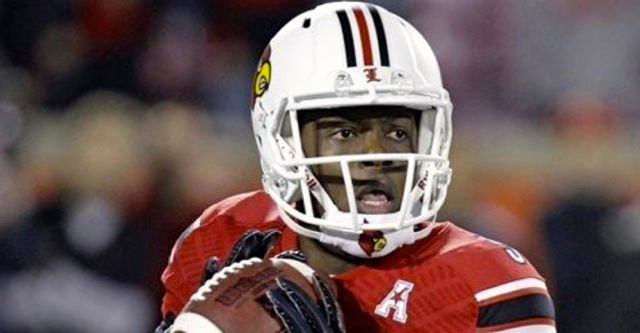 Louisville quarterback Teddy Bridgewater did not throw a touchdown pass but the Cards defeated Houston, 20-13.