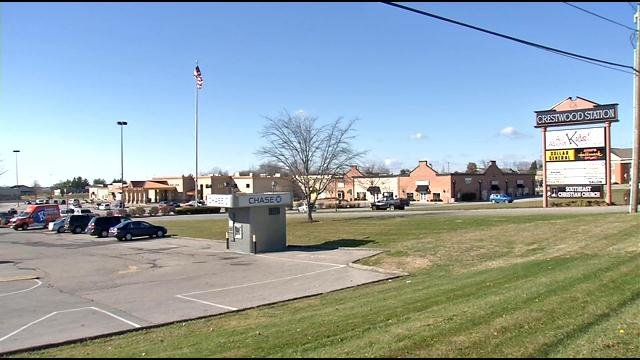 Shopping center purchased for church expansion.
