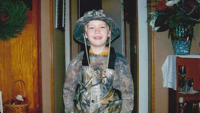 Photo courtesy of Tucker Wimpee's family. Police say Wimpee and his mother, Ellen Cain, were shot by her boyfriend, Warren Earle Tripp.