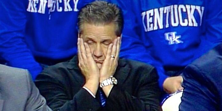 John Calipari's Kentucky team rallied in the final 7 1/2 minutes to defeat Cleveland State Monday.